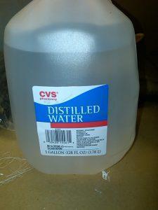 فروش آب مقطر بیمارستانی